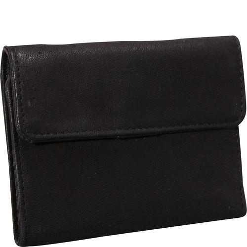 Derek Alexander Mini Tri Fold w/ Change Flap