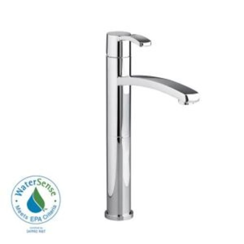 American Standard Berwick Single Hole Single-Handle Low-Arc Vessel Bathroom Faucet in Polished Chrome