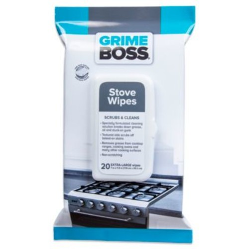 Grime Boss 20-Count Stove Wipes