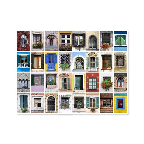 Melissa & Doug 9229 World Windows Cardboard Jigsaw Puzzle, 1500 Piece