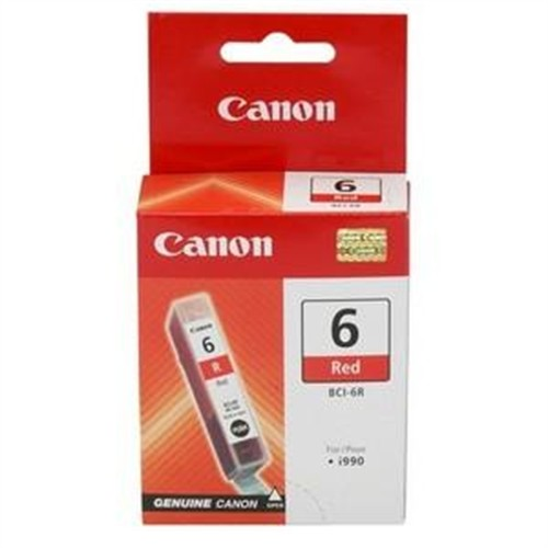Canon BCI-6 (8891A003) Red Ink Cartridge