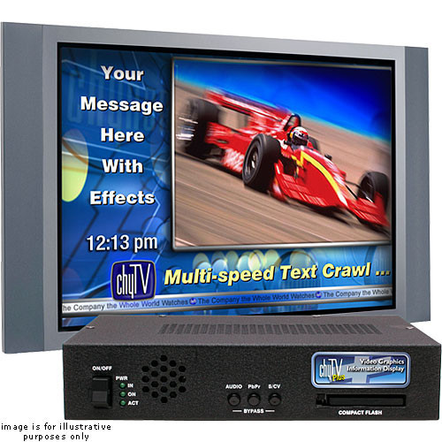 7A00268 ChyAlert Plus Video Signage System with Software (NTSC)
