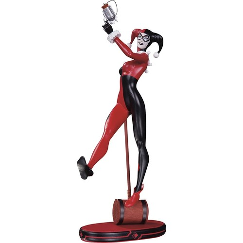 DC Collectibles - DC Comics Cover Girls: Classic Harley Quinn Statue