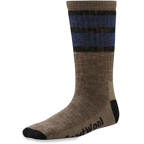 SmartWool Striped Hike Medium Crew Socks - Kids'