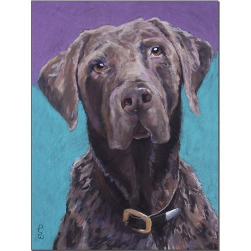 Max by Pat Saunders-White, 18x24-Inch Canvas Wall Art [18 by 24-Inch]