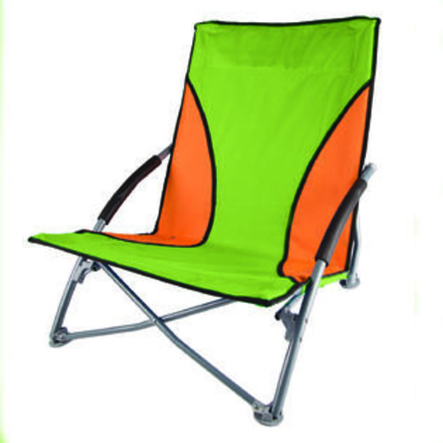 Stansport Low Profile Fold Up Chair Lime and Orange per EA
