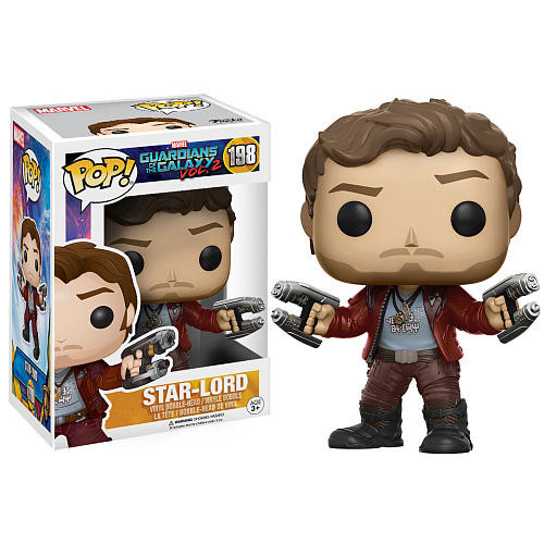 Funko POP! Movies: Guardians of the Galaxy 2 3.75 inch Vinyl Figure - Star-Lord