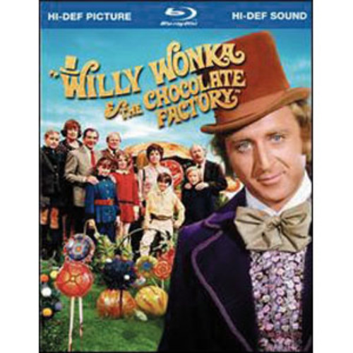 Willy Wonka & the Chocolate Factory [WS] [Blu-ray] WSE DTHD/DD5.1/DD1