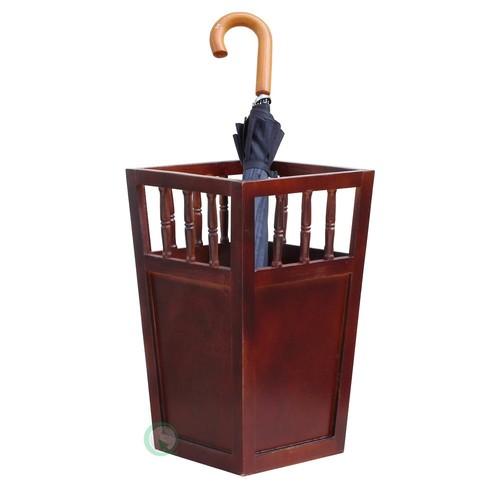 Vintiquewise Roman Brown Umbrella Stand