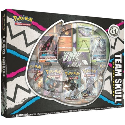 Pokemon Trading Card Game: Team Skull Pin Collection