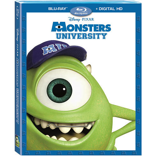 Disney Pixar Monsters University Blu-Ray Combo Pack (Blu-Ray/Digital HD)
