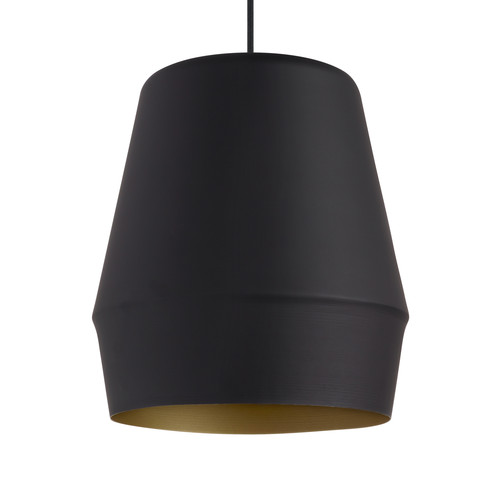 Allea Pendant [Finish : Black w/ Gold Interior; Light Option : Incandescent]