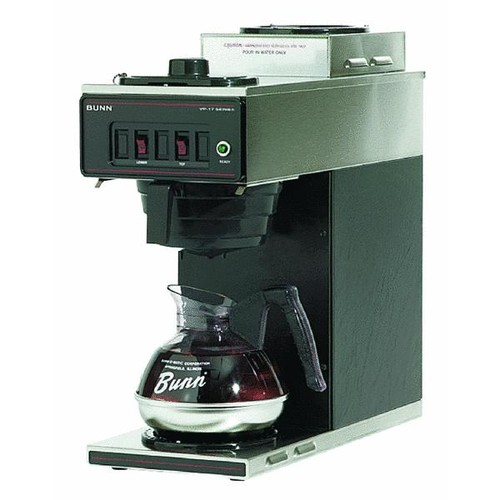 Bunn Low Profile 2 Warmer Pour-Over Coffee Brewer - VP17-2