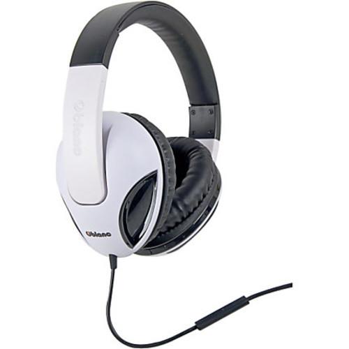 SYBA Multimedia Oblanc Cobra White Stereo Headphone W/In-line Microphone