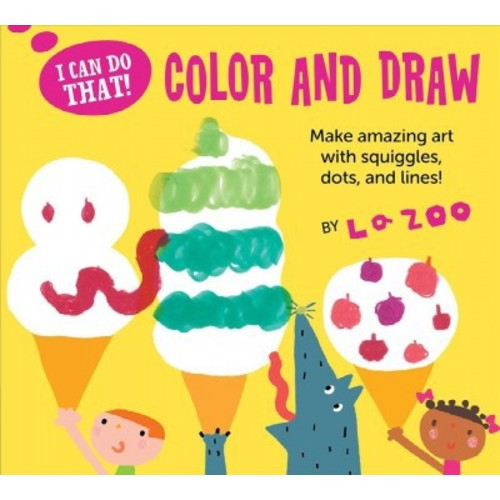 Color and Draw (Paperback) (LA Zoo)