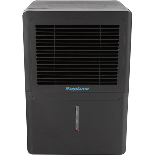 Keystone 50 pt. Dehumidifier in Black