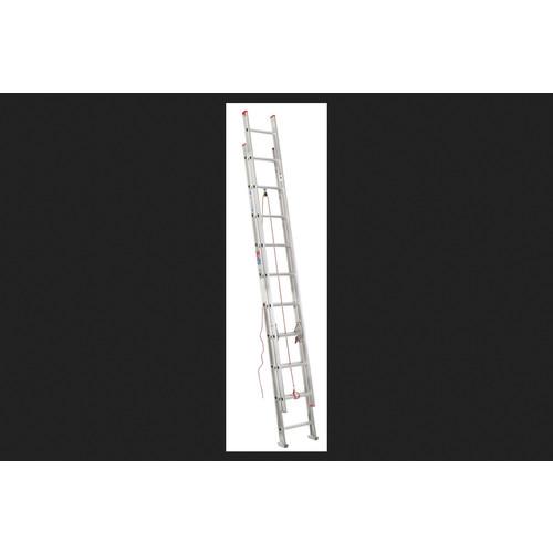 Werner Aluminum 20 ft. H Extension Ladder 200 lb. Type III
