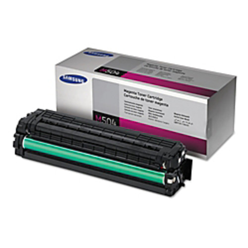 CLTM504S Toner Cartridge, 1800 Page Yield, Magenta by Samsung
