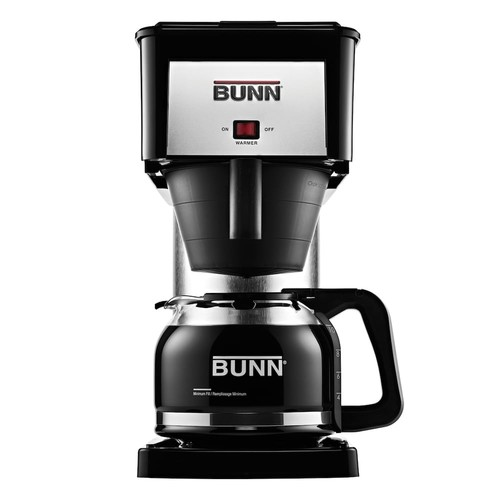 BUNN Velocity Brew Silver Finish 10-Cup Coffee Brewer