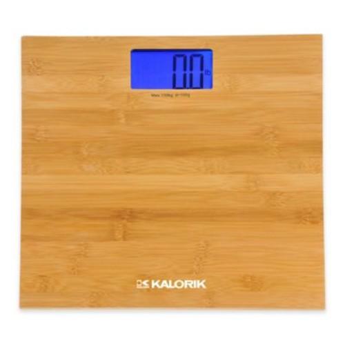 Kalorik Digital Bamboo Bathroom Scale