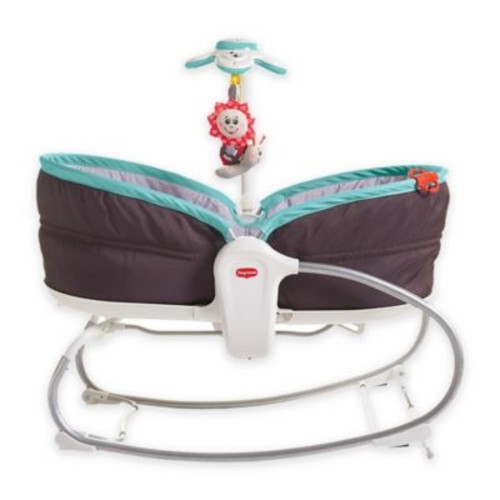 Tiny Love 3-in-1 Rocker Napper in Brown/Turquoise