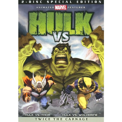 Hulk Vs. [Special Edition] [2 Discs] [DVD] [2009]