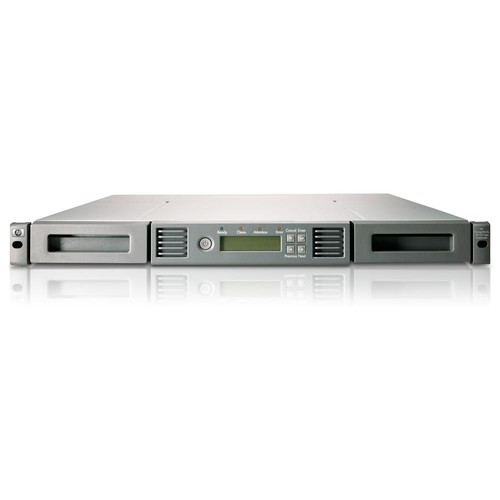HP StoreEver 1/8 G2 LTO6 Ultrium 6250 SAS Autoloader/S-Buy - 1 x Drive/8 x Slot - LTO-6 - 15 TB (Native) / 50 TB (Compressed) - 407.78 MB/s (Native) / 1019.45 MB/s (Compressed) - SAS - Encryption - Barcode Reader - 1URack-mountable - 1 Year WarrantyShow More + - C0H18SB