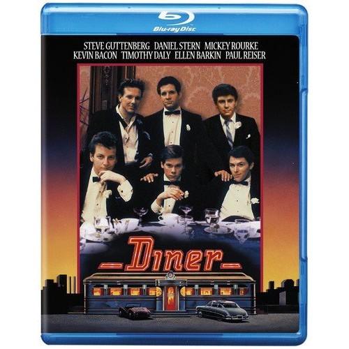 Diner (BD) [Blu-ray]: Steve Guttenberg, Daniel Stern, Mickey Rourke, Kevin Bacon, Tim Daly, Paul Reiser, Ellen Barkin, Barry Levinson, Jerry Weintraub, Mark Johnson: Movies & TV