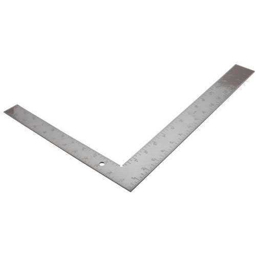 Empire Level 1010 Steel Carpenter Square, 12-Inch by 16-Inch Square, 1/16-Inch Thick