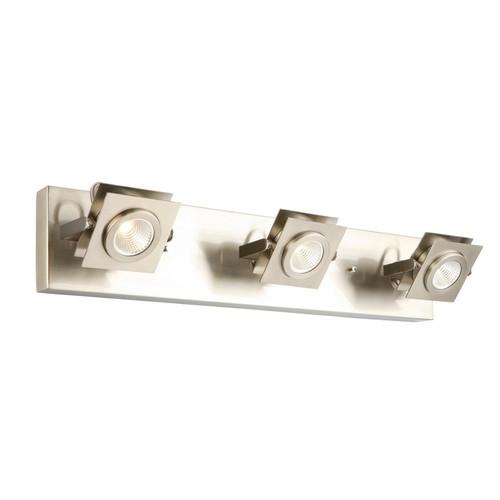 Design House Otero 3-Light Brushed Nickel Directional Track Light