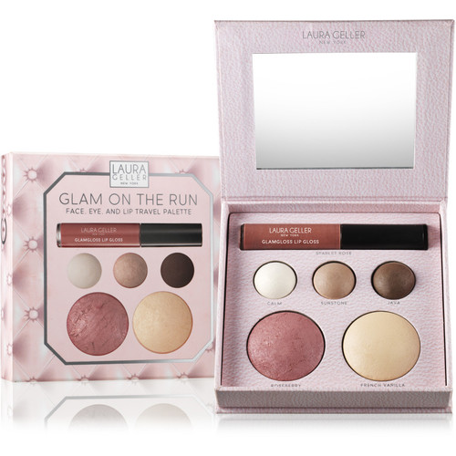 Glam on The Run - Face, Eye, And Lip Travel Palette