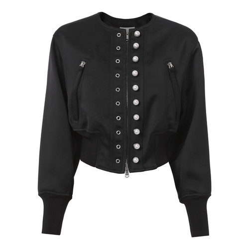 3.1 PHILLIP LIM Navy Pearl Bomber Jacket