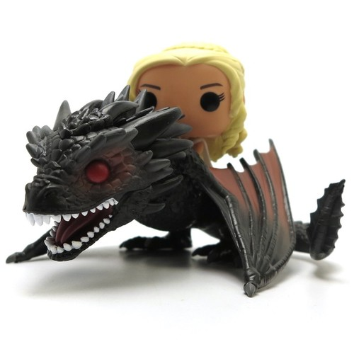 Funko POP! Rides: Game of Thrones Vinyl Action Figure - Daenerys and Drogon