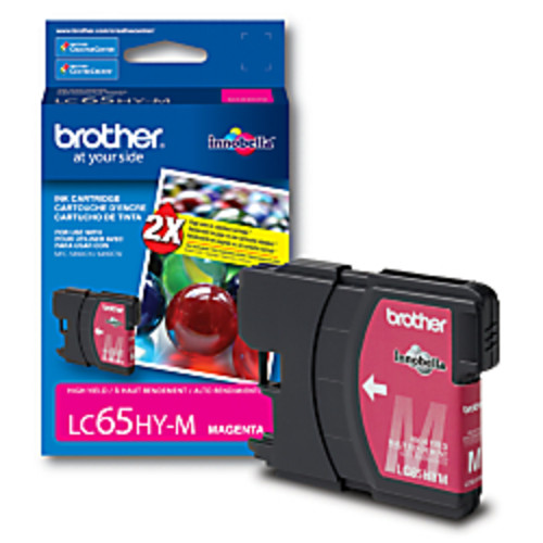 Brother LC65HY-M High-Yield Magenta Ink Cartridge