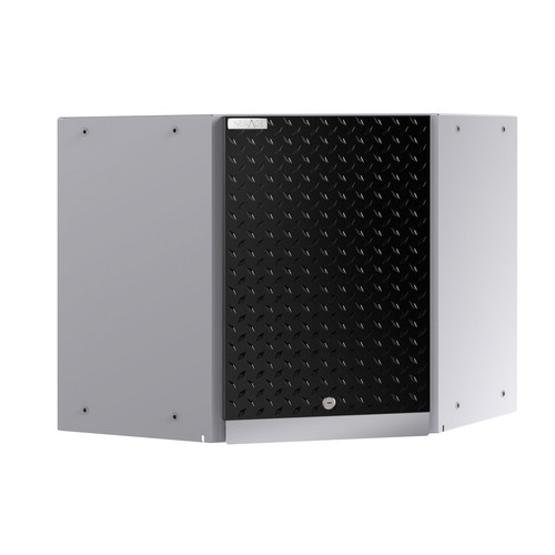 Age Products Performance Plus 2.0 Diamond Plate Corner Wall Cabinet