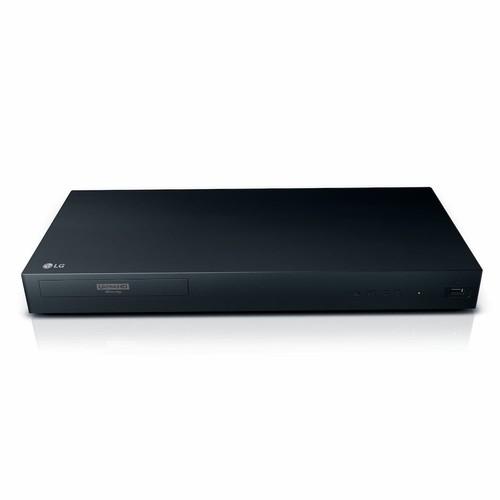 LG - UP875 4K Ultra HD 3D Blu-ray Player - Black