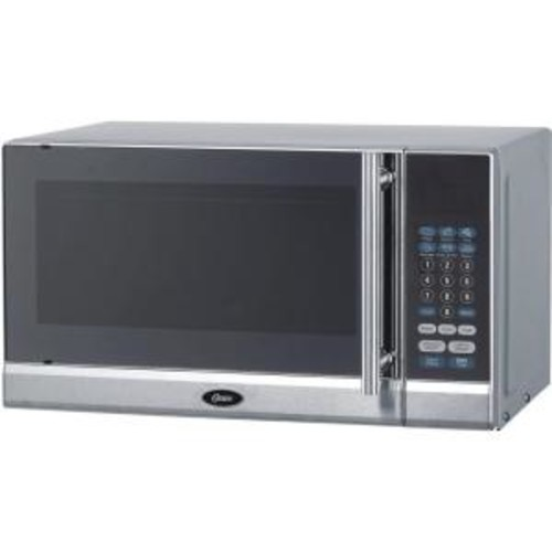 Oster 0.7 cu. ft. Countertop Microwave in Stainless Steel
