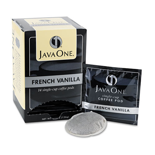 Java One Coffee Pods, French Vanilla, Single Cup (14 ct.)