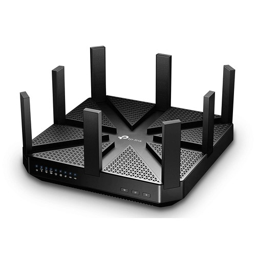 TP-Link AC5400 Wireless Wi-Fi MU-MIMO Tri-Band Router  Powerful WiFi for Gaming and 4K Streaming, Comprehensive Antivirus and Security, Works with Alexa and IFTTT (Archer C5400)
