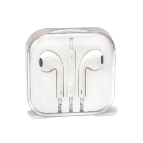 Apple Original EarPods Earphones Headphones with Remote and Mic MD827LL/A - White