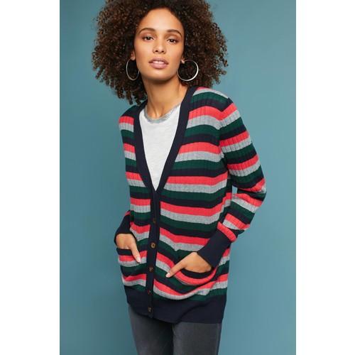 Jamison Striped Cardigan [REGULAR]