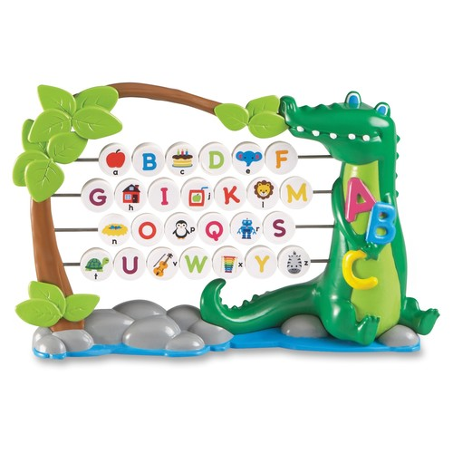 Learning Resources Alphagator Bead Abacus - Theme/subject: Learning - Skill Learning: Letter Recognition, Phonic, Fine Motor, Exploration, Alphabet (lrn-7723)