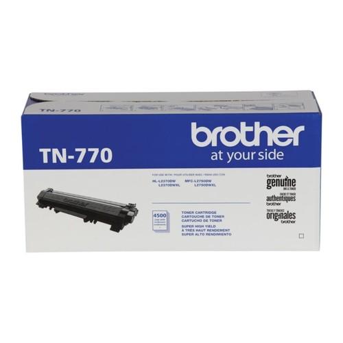 Brother TN-770 Extra-High Yield Black Toner Cartridge