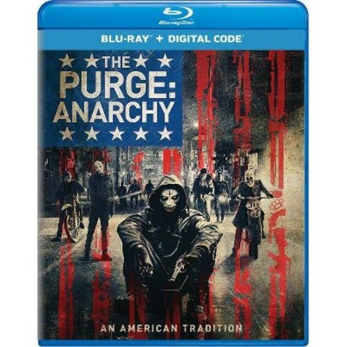 The Purge: Anarchy [Includes Digital Copy] [UltraViolet] [Blu-ray] [2014]