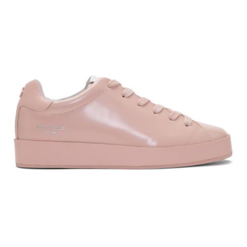 RAG & BONE Pink Rb1 Low Sneakers
