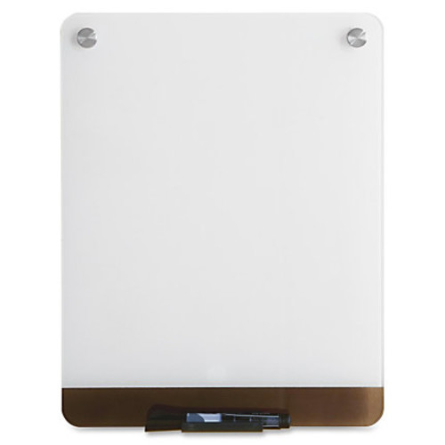 Iceberg Clarity Personal Glass Dry-erase Board - 16