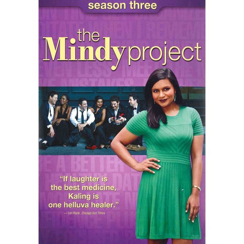 The Mindy Project: Season Three (3 Discs) (dvd_video)