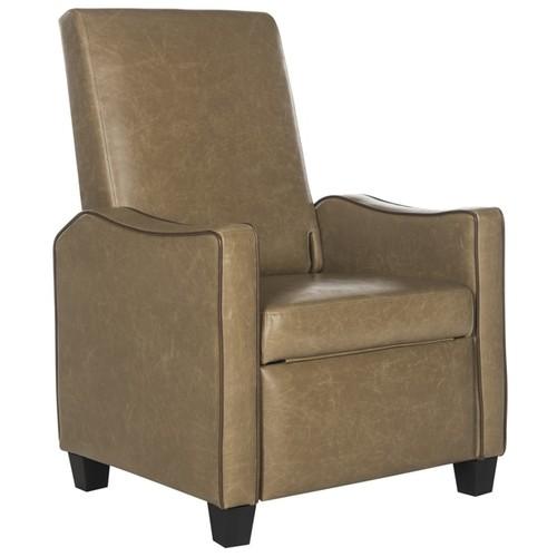 Safavieh Holden Tan/Brown Recliner Chair