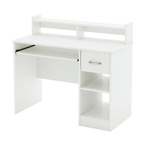South Shore Furniture Axess Small Desk, White