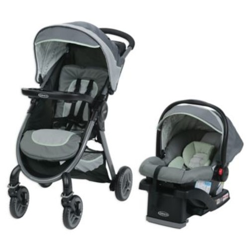 Graco FastAction Fold Travel System in Mason